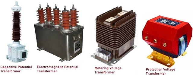 Types of Potential Transformers