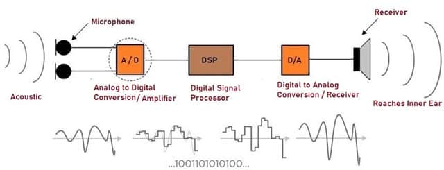 Working Principle of Digital Hearing