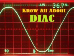 DIAC – How it works, Applications, Advantages and Disadvantages
