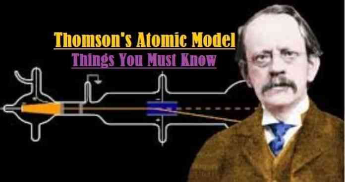 Introduction to Thomson's Atomic Model