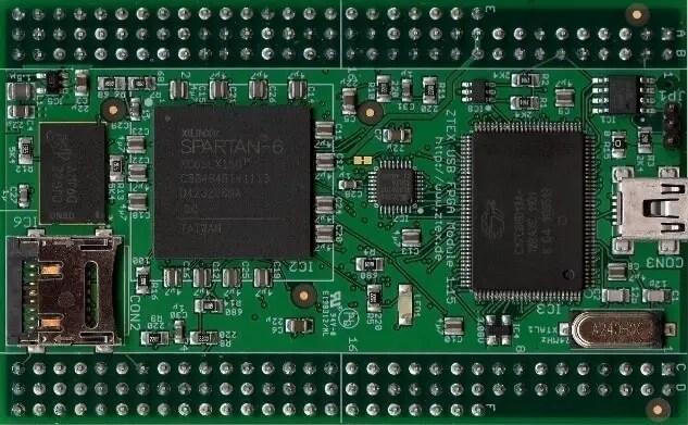 Image of FPGA Development Board