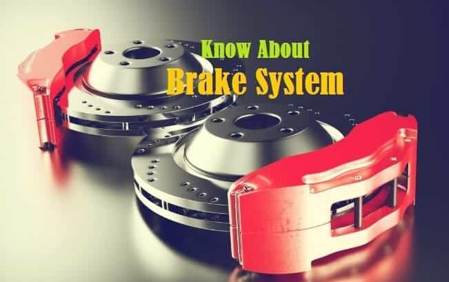 Brake System - Types, How it Works, Advantages and Disadvantages
