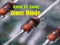 Zener Diode – Parameters, How it Works, Applications and Advantages