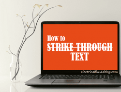 Strikethrough Text – Why / How to Strike Through Text | Strikeout Generator