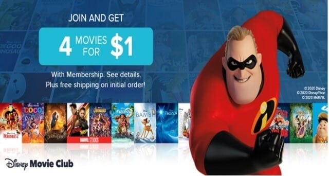 Movies for $1