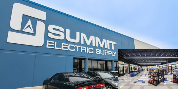 Summit Electric Supply Moves Dallas, Texas Service Center to Larger Facility in Irving