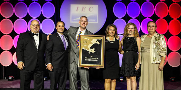 IECRM and Six of its Electrical Contractors and Energy Companies Receive National Recognition