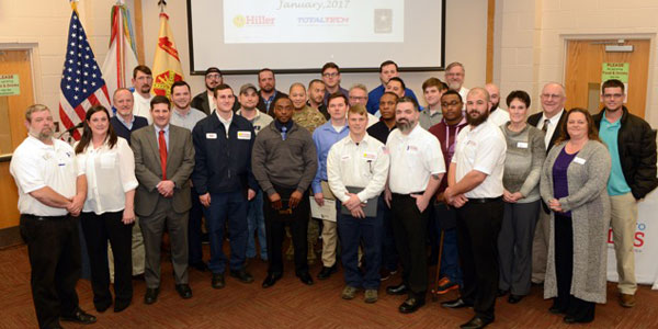 Transition to Trades Program Graduates 42 Soldiers in HVAC, Electrical & Plumbing Trades
