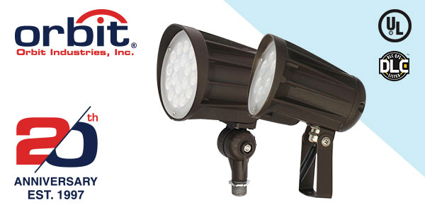 Orbit Industries Introduces a NEW Series of Bullet LED Flood Lights