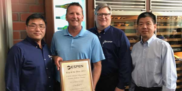 Espen Technology Awards E.R.I. as 2016 Rep Agency of the Year
