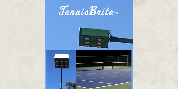 Bieber Lighting's New Competition LED Tennis Fixtures