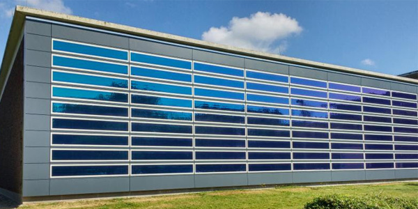 New Heliatek Solar Energy Façade on ENGIE's Research Center