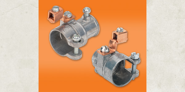 Bridgeport Fittings' New FMC Grounding And Bonding Transition Couplings and Connectors Save Contractors Time and Material