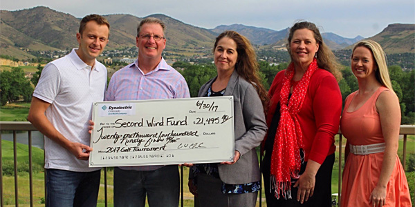 Dynalectric's 8th Annual Charity Golf Event Donates $21,500 to Help Children and Youth at Risk of Suicide
