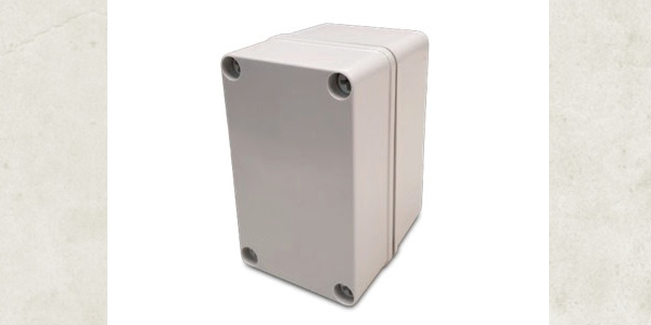 Stahlin Non-Metallic Enclosures expands the CF Small Junction Series with Polycarbonate Options
