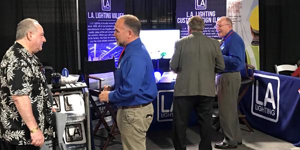 Los Angeles Lighting Exhibits at NetZero 2018