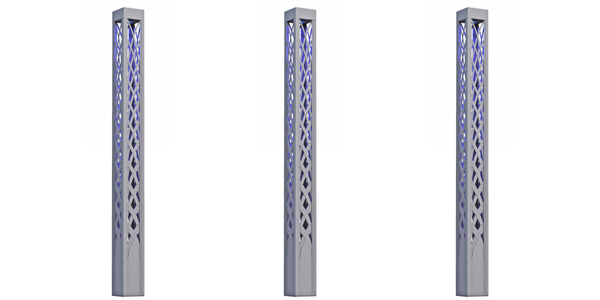 HessAmerica Introduces COLONNADE: Decorative Architectural Light Column