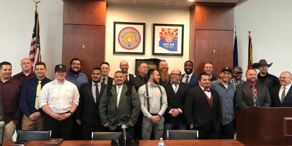 Rosendin Recognizes 13 Graduates from Phoenix Electrical JATC Training