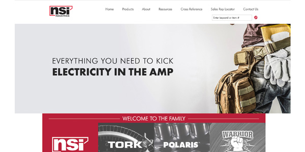 NSI Industries Launches Redesigned Website