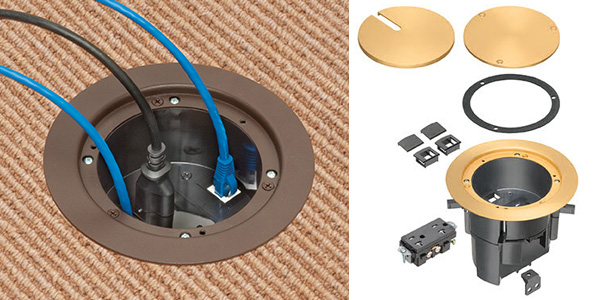 Arlington Recessed Floor Box Kit for Existing Floors