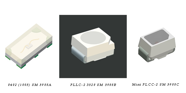 Dialight Expands MicroLED Line with 3 New Surface Mount LEDs