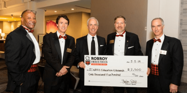 Robroy Industries Hosts Annual Dessert Reception and Donates to NAED Education & Research Foundation