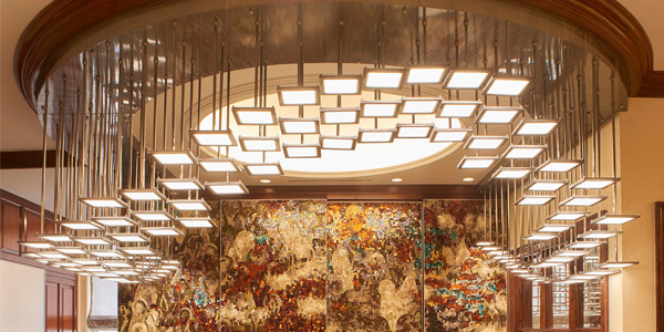 2nd Ave Lighting Collaborates with Don Kossar Interiors on OLED Lighting Project in Park Ave Office