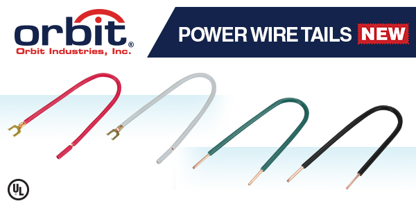 Orbit Industries' Adds Power Wire Tails to its Electrical Junction Box Line
