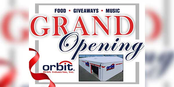 Orbit Industries, Inc. to Hold Grand Opening Celebration September 27th