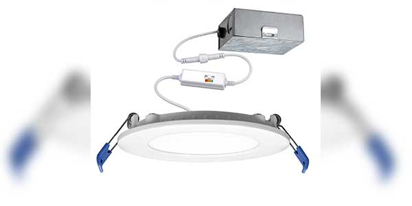 EarthTronics Introduces High-Efficient Slim LED Recessed Downlight Series