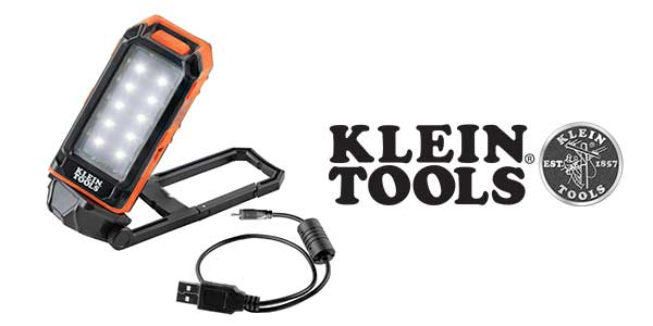Klein Rechargeable Personal Worklight Mounts Hands-Free Wherever Needed