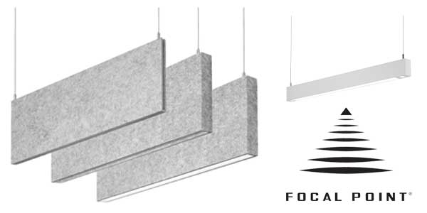 Focal Point to Showcase New Lighting and Acoustic Products at LED Specifier Summit