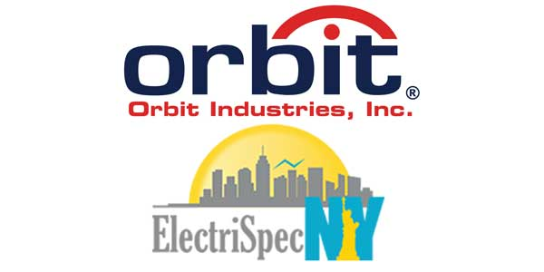 Orbit Industries Selects ElectriSpecNY to Represent Full Product Line in Upstate New York
