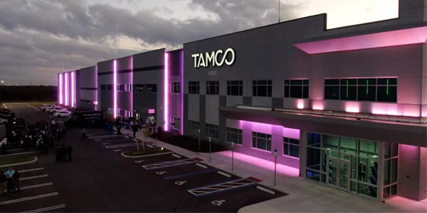 TAMCO Group Opened a 411,000-Square-Foot Manufacturing Center in Florida