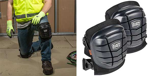 Klein Tools Launches Knee Pads to Offer Comfort and Protection