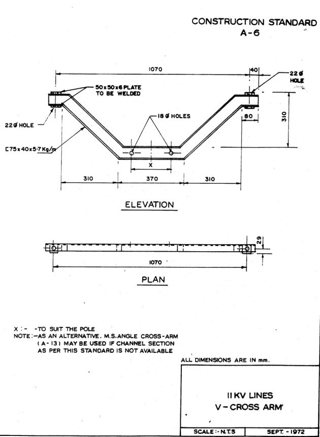 11KV415V Overhead Line SpecificationREC  Electrical
