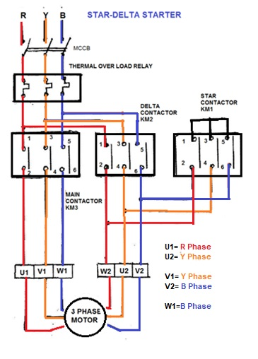 wiring diagram for fuji magnetic contactor