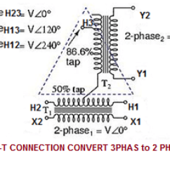 2 Phase Transformer Wiring Diagram Xrm 110 3 Wire Manual E Books Scott T Connection Of Electrical Notes U0026 Articlesthe May Be