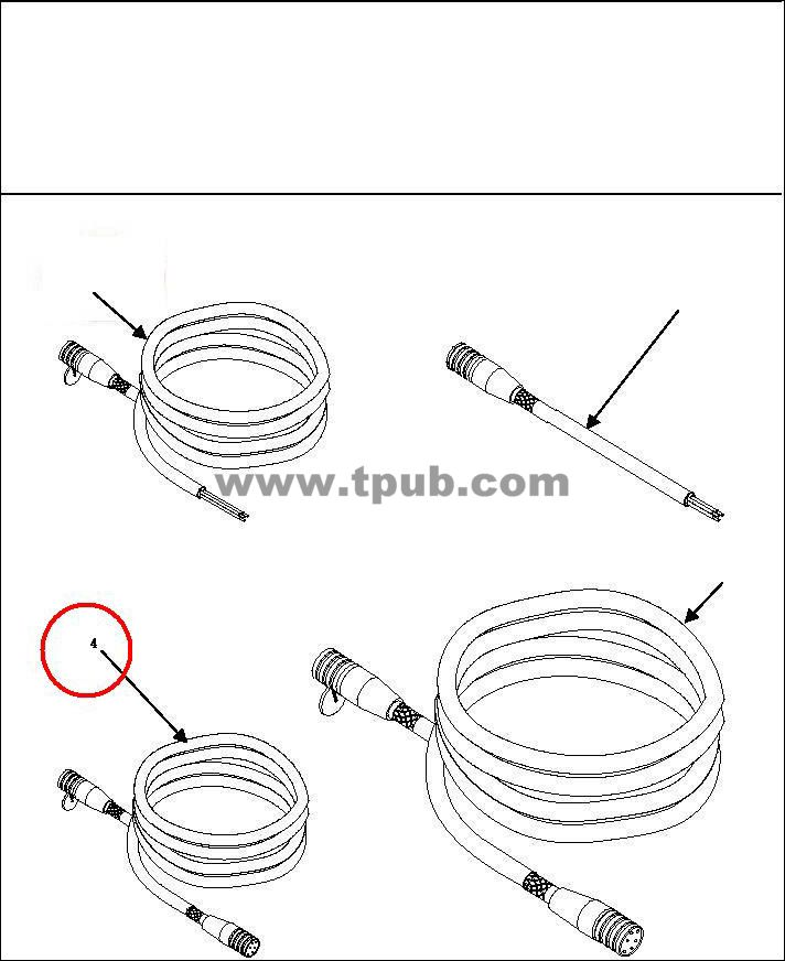6150-01-220-5588 Cable Assembly, Power, Electrical