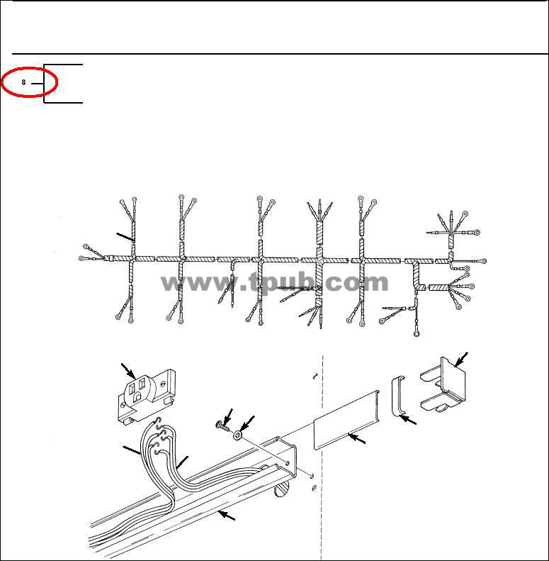 6150-00-242-5424 Wiring Harness