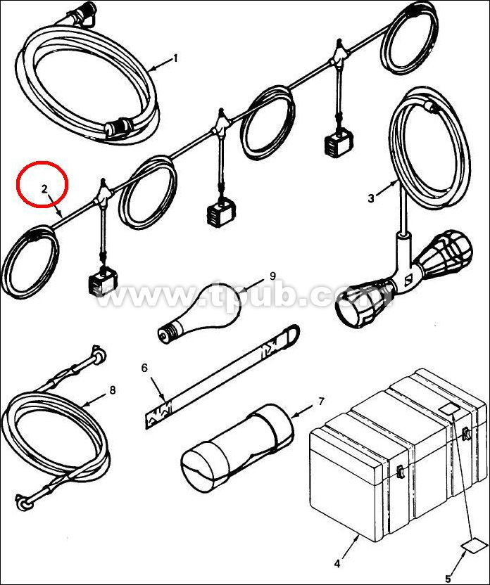 6150-01-251-9124 Cable Assembly, Special Purpose