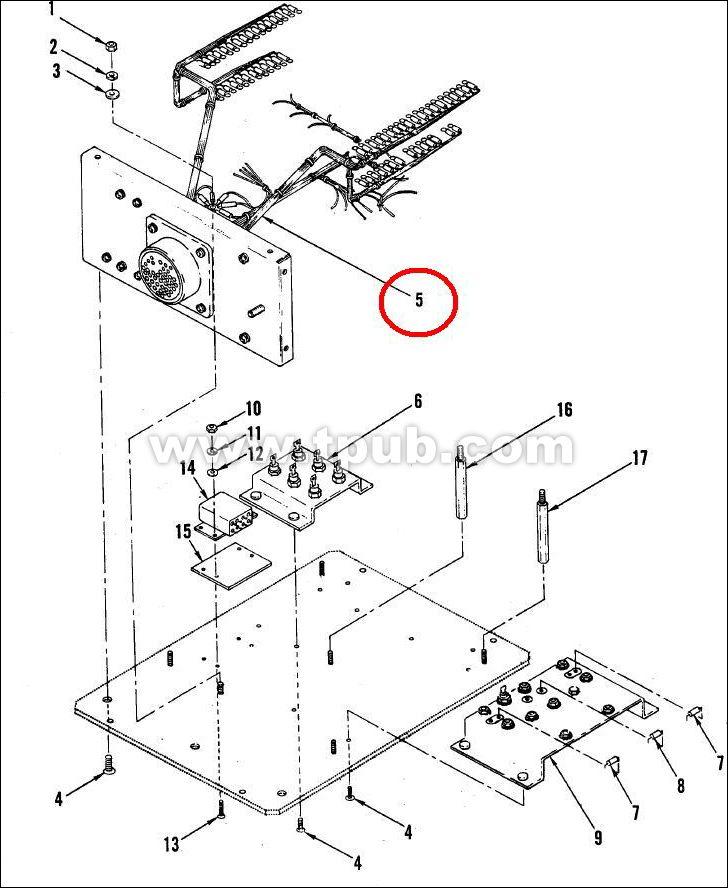 6150-01-266-1716 Wiring Harness