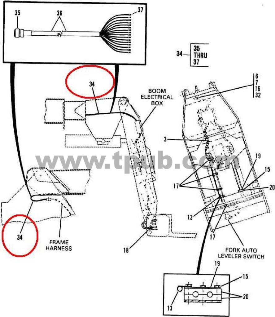 6150-01-333-4141 Wiring Harness