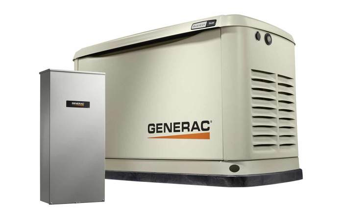 Generac Guardian 7030 9-8 KW Air-Cooled Standby Generator