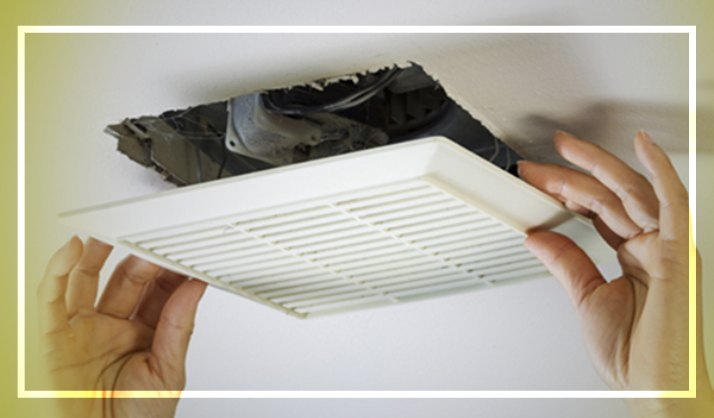 How to Install a Bathroom Exhaust Fan on First Floor