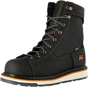 Timberland PRO Mens Gridworks 8 inch Construction Shoe