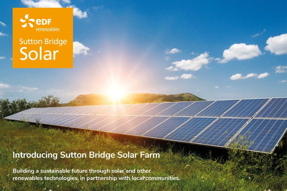 EDF Sutton Bridge Solar Farm