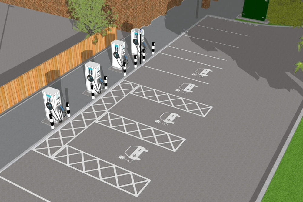 Franklin Energy EV Chargers Sheffield
