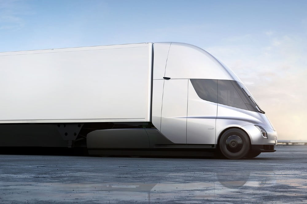 Tesla Semi could help with the electrification of the UK heavy vehicle market