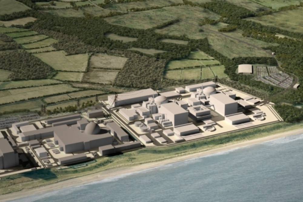 Sizewell C Nuclear Reactor
